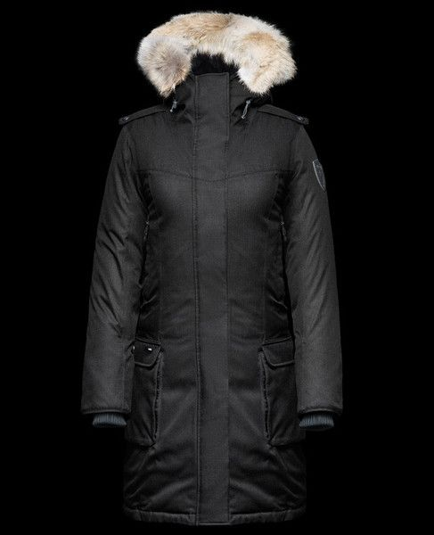 Nobis Women's Abby Jacket in Crosshatch Black