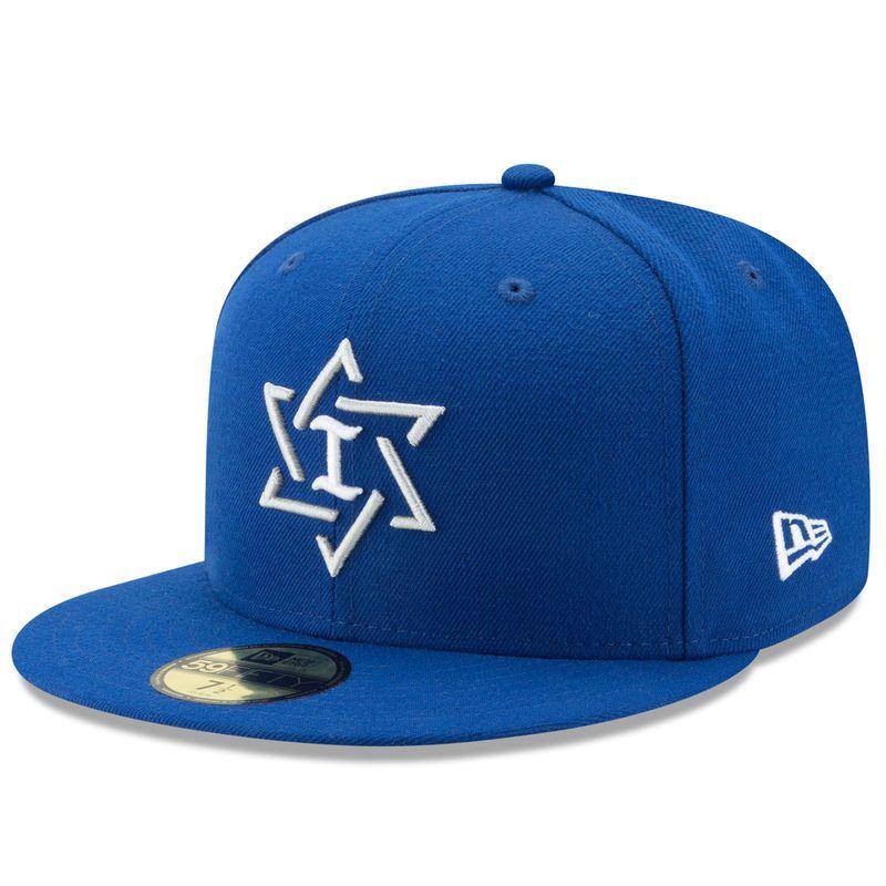 7dace55c9091 Israel Baseball New Era 2017 World Baseball Classic 59FIFTY Fitted Hat -  Royal