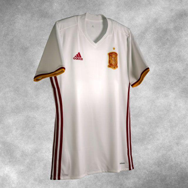 5bd712d2f796e Nova camisa reserva da Espanha 2016-2017 Adidas