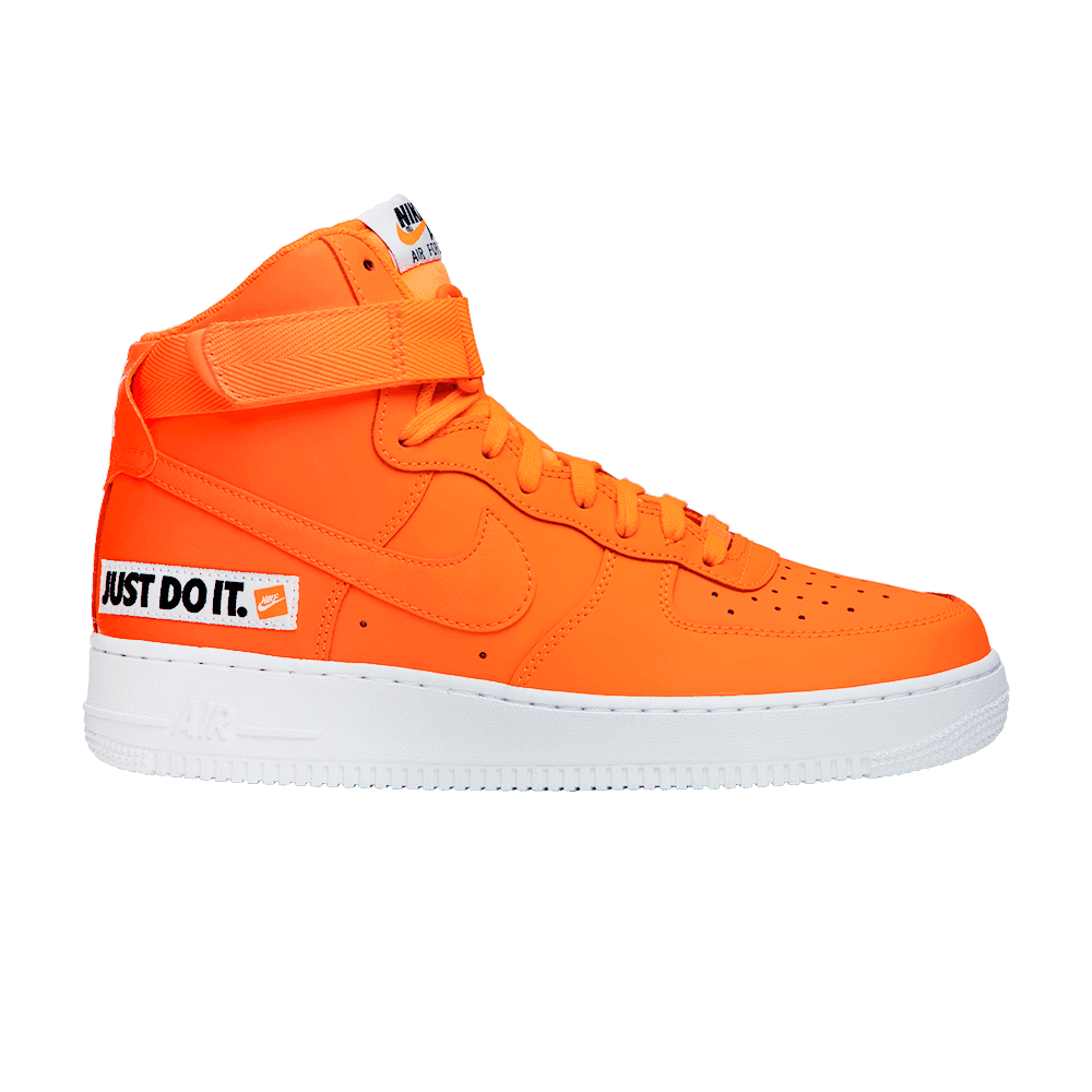 air force 1 orange fluo
