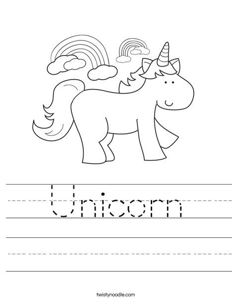 7700 Top Unicorn Coloring Pages Preschool Images & Pictures In HD