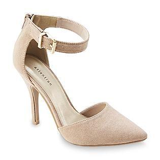 High-Heel Taupe Dress Shoe