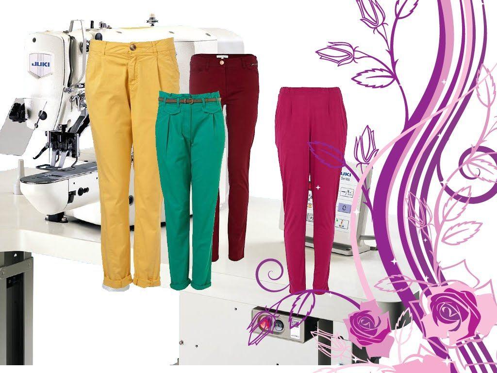 Dikis Bayan Pantolon Dikimi Pantolon Kumasinin Serimi Kesimi Dikimi Dikis Pantolon Ve Dikis Projeleri