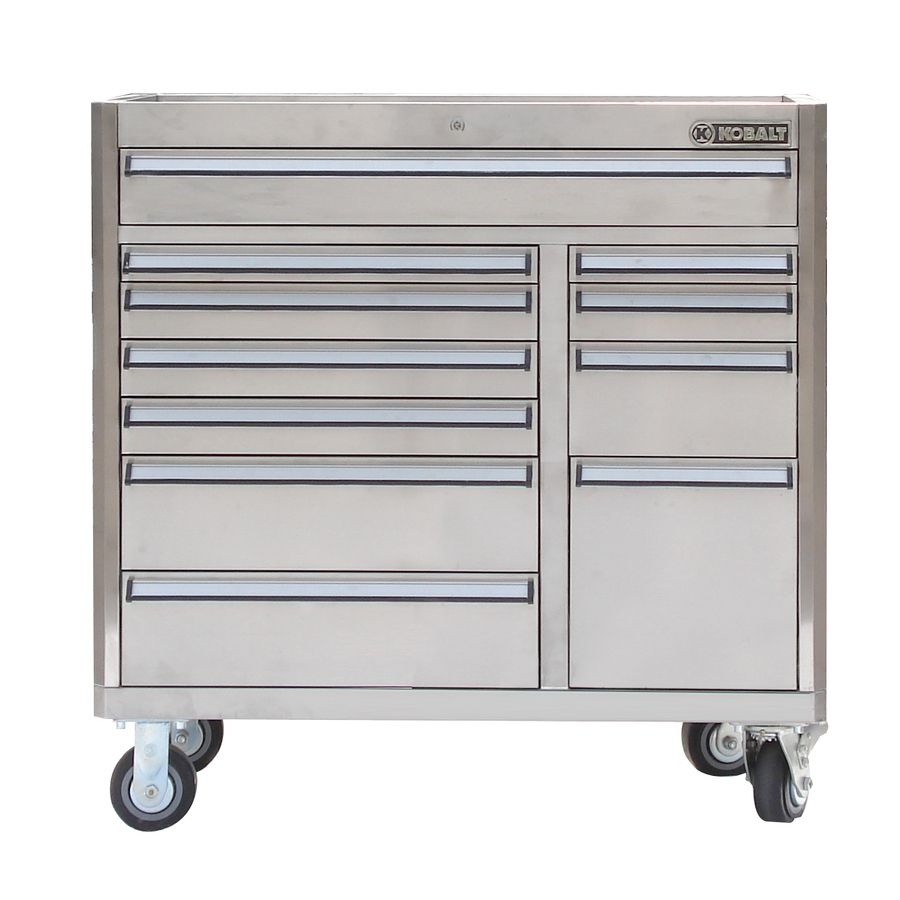 Magnificent Shop Kobalt 11 Drawer 41 In Stainless Steel Tool Chest At Machost Co Dining Chair Design Ideas Machostcouk