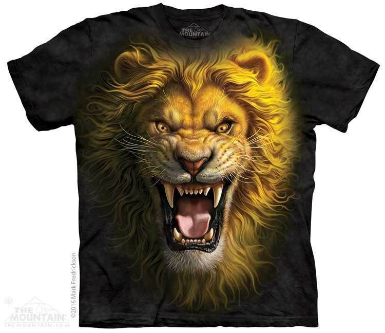 9d8aa8dbffe6 Beast T-Shirt | Wallpaper | Lion shirt, Roaring lion, Mens tees