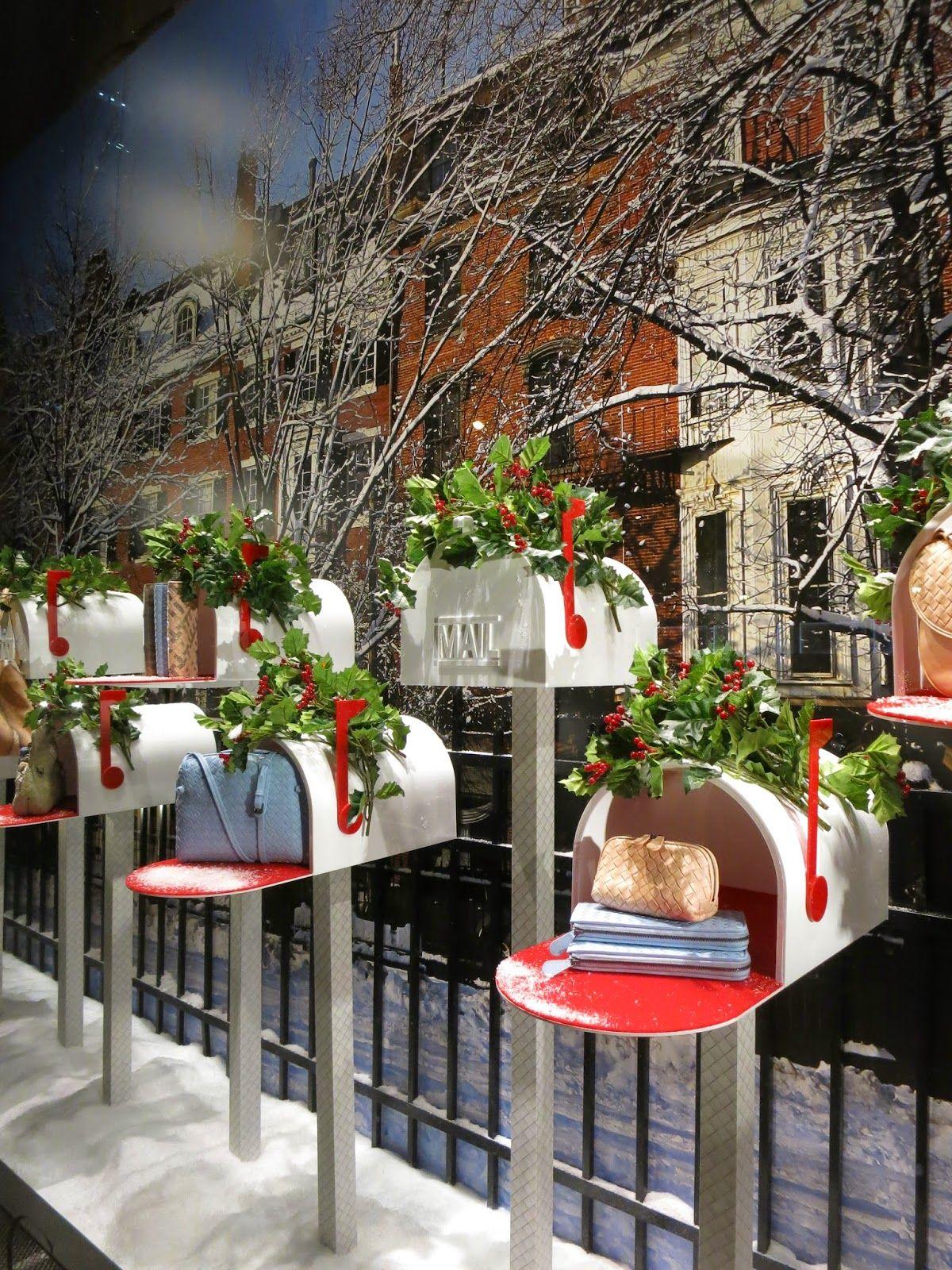 Bottega veneta new york shops pinterest schaufenster schaufensterdekoration und - Schaufensterdekoration weihnachten ...