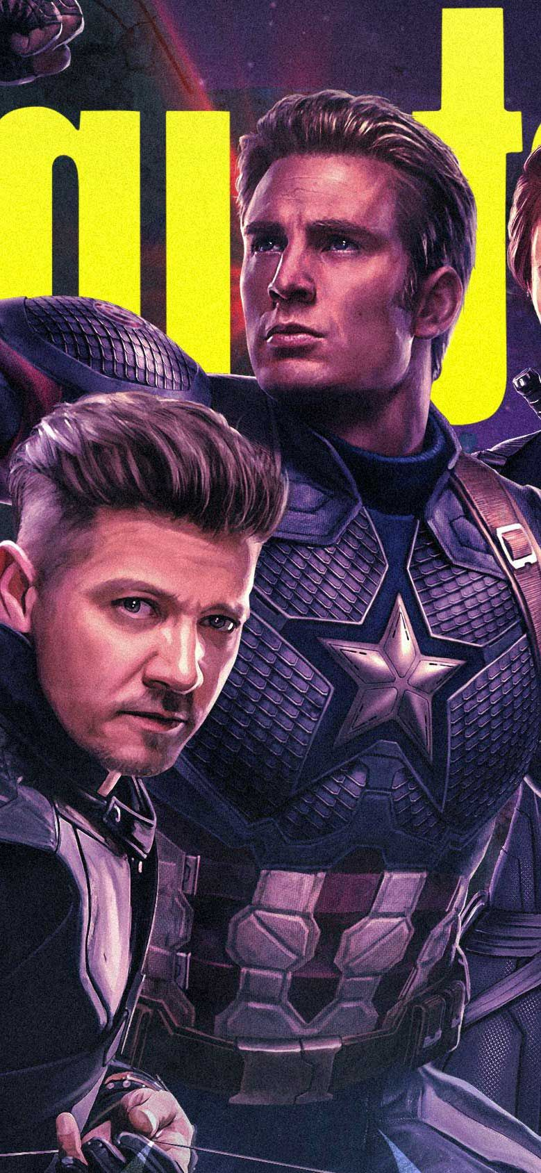 Wallpaper Iphone X Hawkeye Captain America In Avengers Endgame