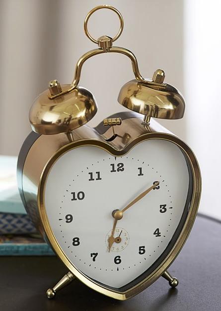 The Emily Amp Meritt Heart Clock Boys Room Decor Alarm
