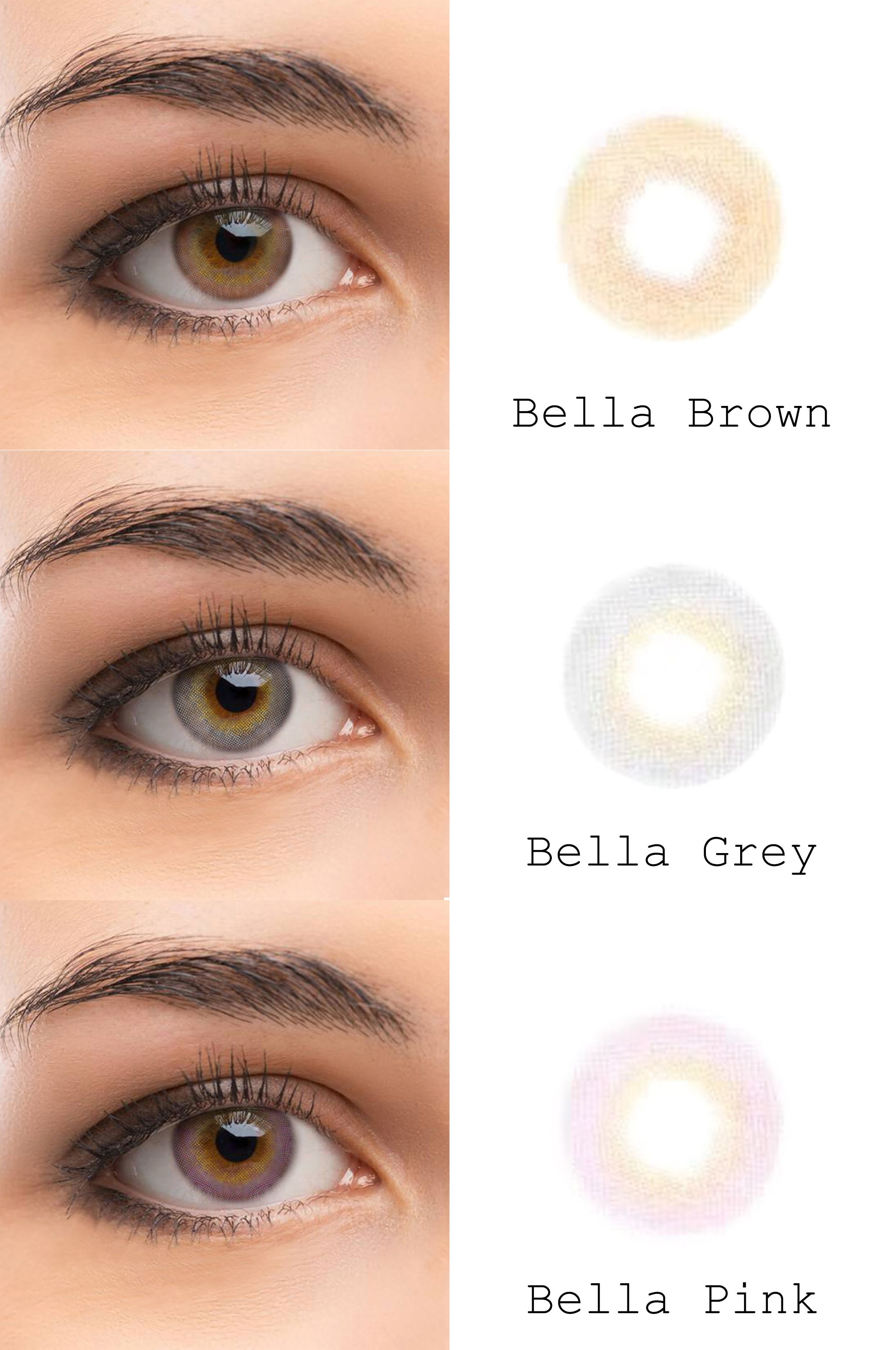 e4251177538 microeyelenses.com - Colored contact lenses online shop. Bella series   Gray
