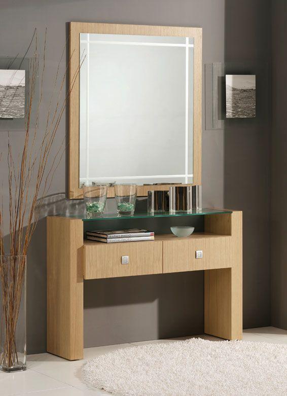 Resultado de imagen para imagenes de consolas modernas for Disenos de marcos de madera para espejos