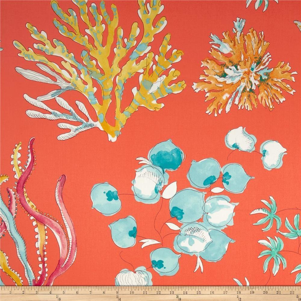 P Kaufmann Ocean Twill Coral from @fabricdotcom Screen ...
