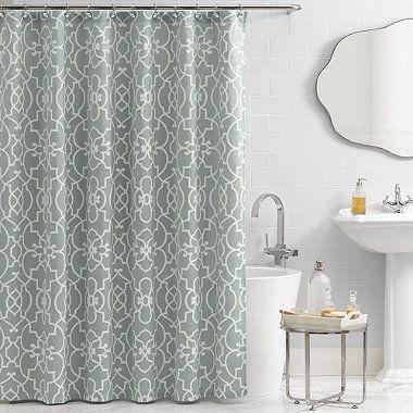 Vue® Signature Iron Gates 72 Inch X 72 Inch Shower Curtain
