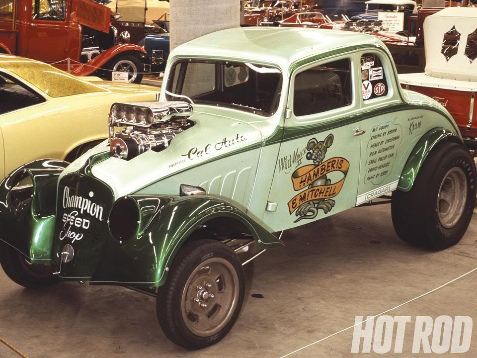 33 Willys Gasser Hamberis Mitchell Drag Cars Willys Classic Cars Trucks