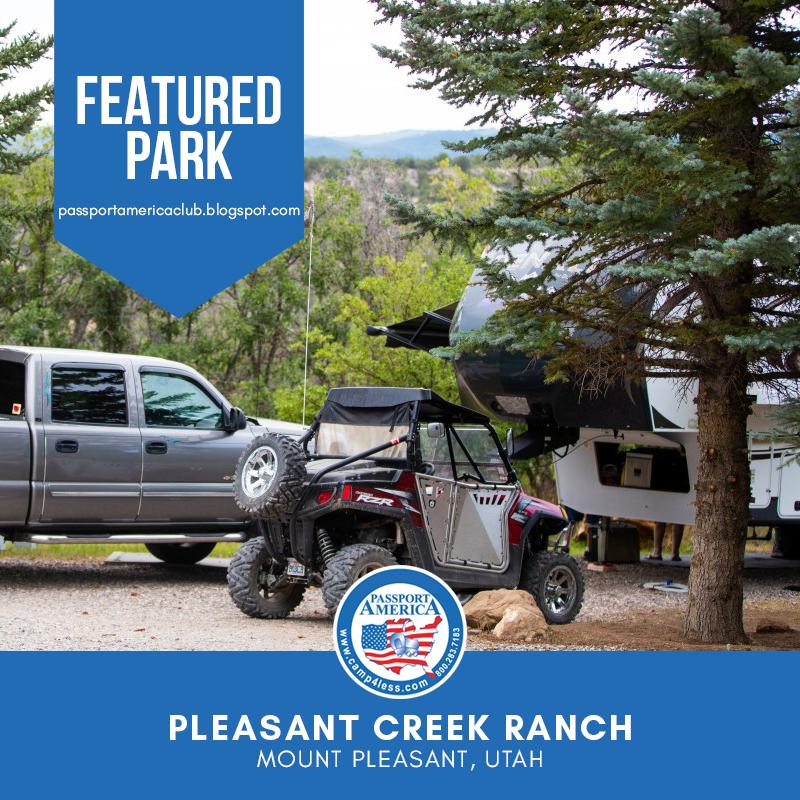 Pleasant Creek Ranch Mount Pleasant Ut Passport America Participating Park Mount Pleasant America Rv Parks