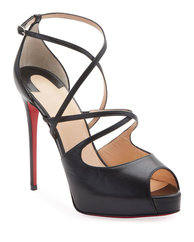 Holly Alta Peep Toe Platform Sandal In