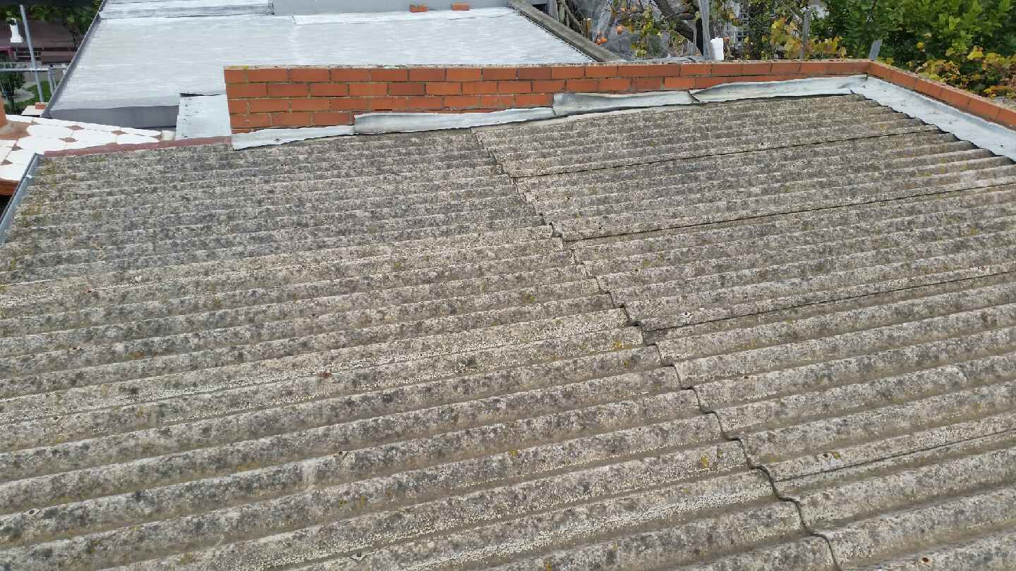 Asbestos Covered Roof On Garage In Coburg Location With Images Asbestos Removal Corrugated Roofing Coburg