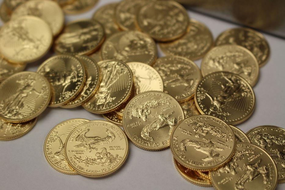 1 4 Oz American Gold Eagle Coins
