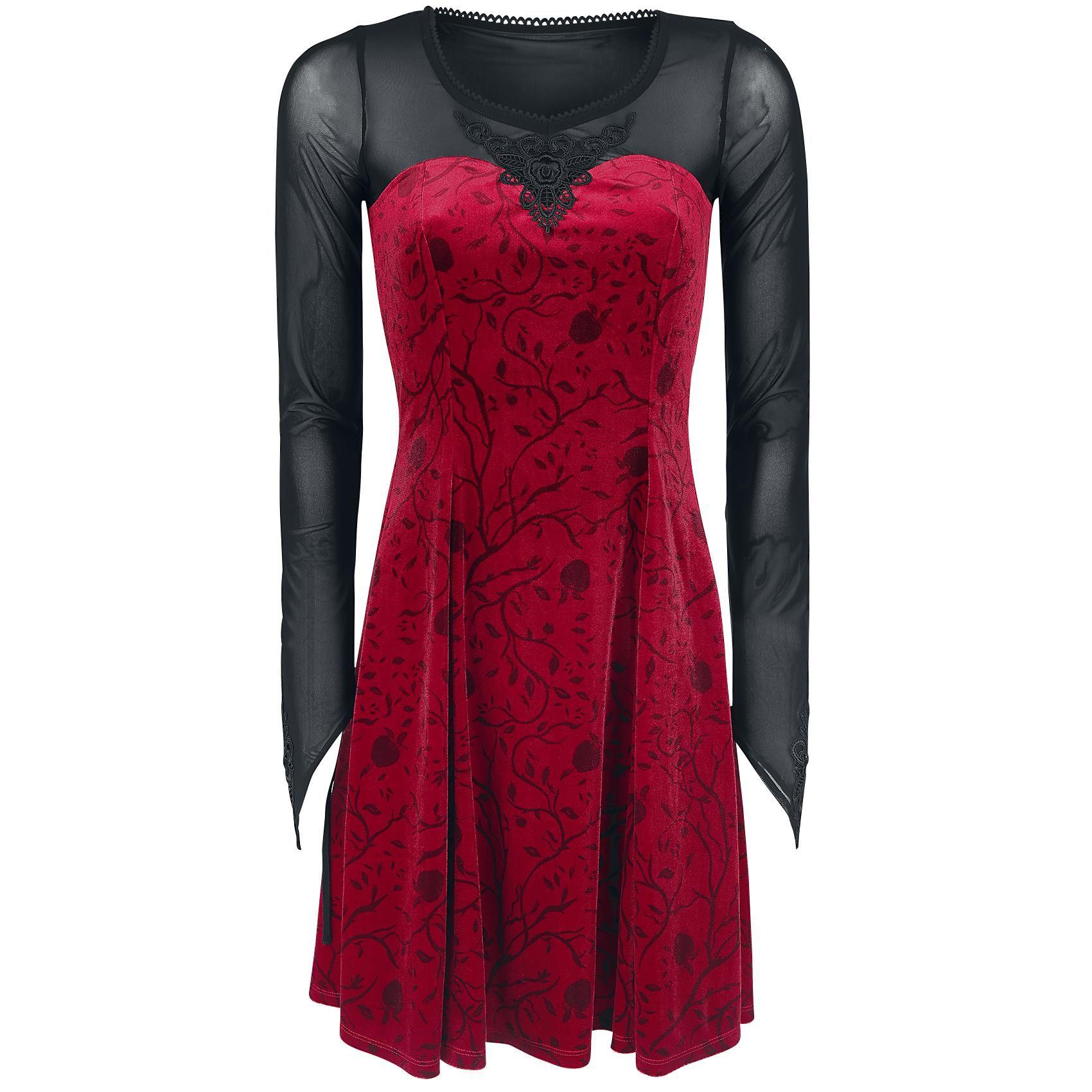 Regina Red Applique Dress - Kurzes Kleid von Once Upon a Time | My ...