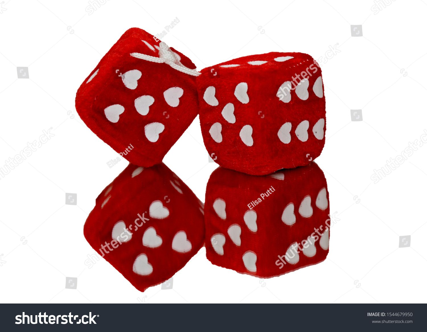 Two red dice with hearts as numbers #Sponsored , #sponsored, #dice#red#numbers#hearts