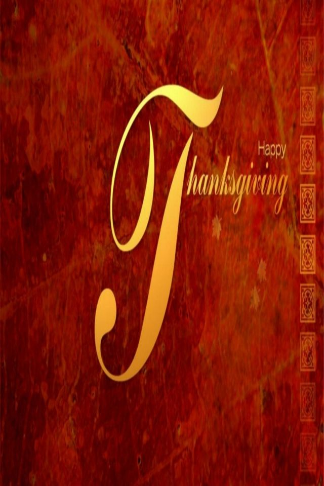 THANKSGIVING, IPHONE WALLPAPER BACKGROUND