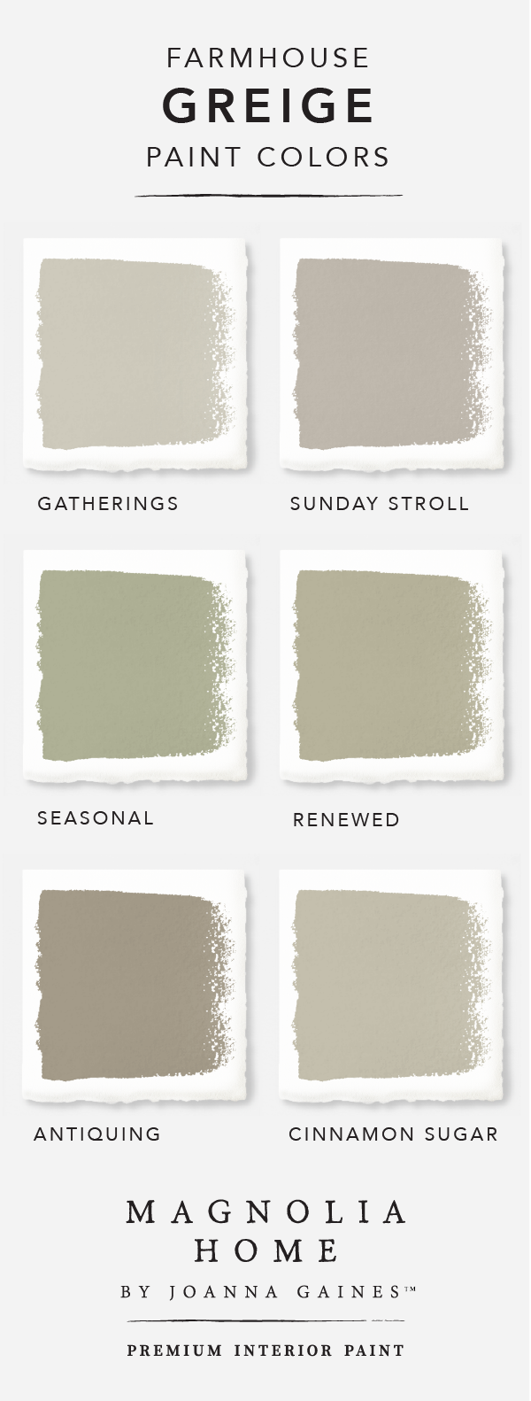 Give Your Home A Chic Modern Update With A Little Help From The Magnolia Home By Joanna Gainestm Paint Colle Magnolia Homes Paint Colors For Home Paint Colors