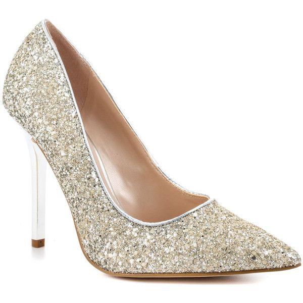 Guess Shoes Neodany - Silver Texture. Got them for Christmas one year...
