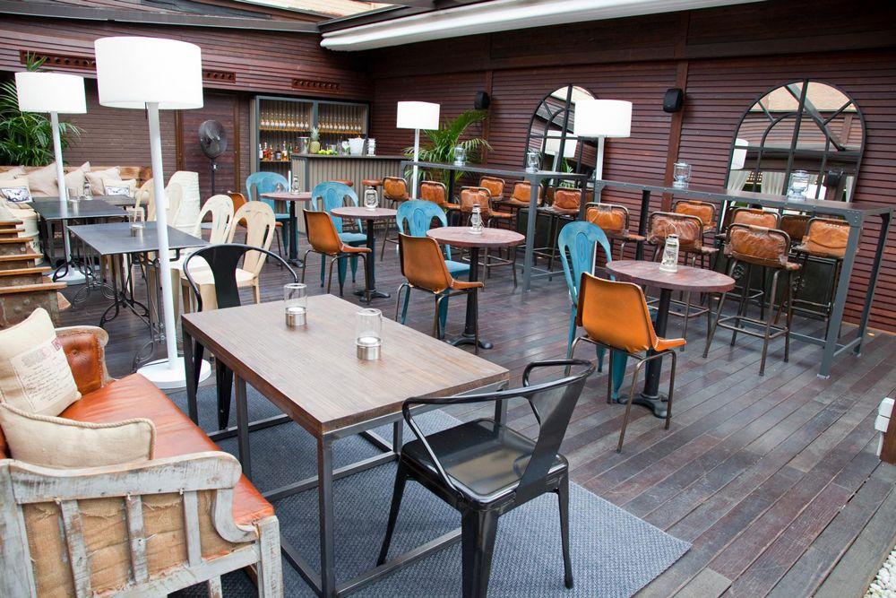 Terraza Hotel Room Mate óscar Terrazas Terrazas Madrid Y