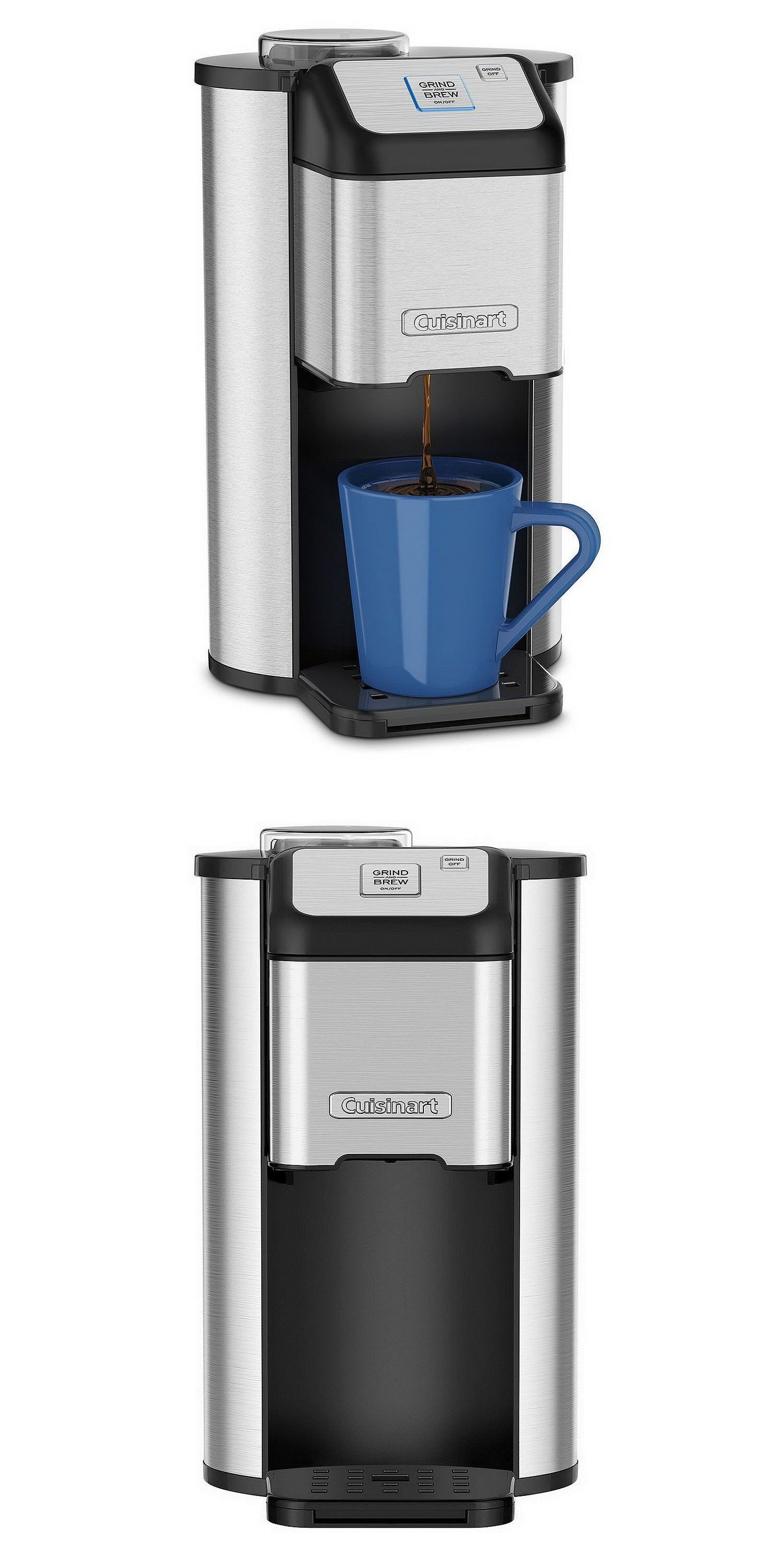 appliances Single Serve Coffee Maker Cuisinart Grind And