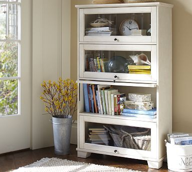 Kent Bookcase Potterybarn I Love That You Can See Your Collection