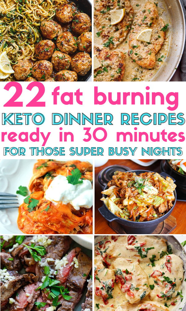 22 Stupid-Simple Quick Keto Dinners That Are Ready In 30 Minutes Or Less images