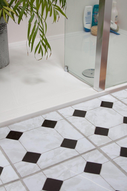 d-c-fix® High Quality Self Adhesive Vinyl Floor Tiles Black Key ...