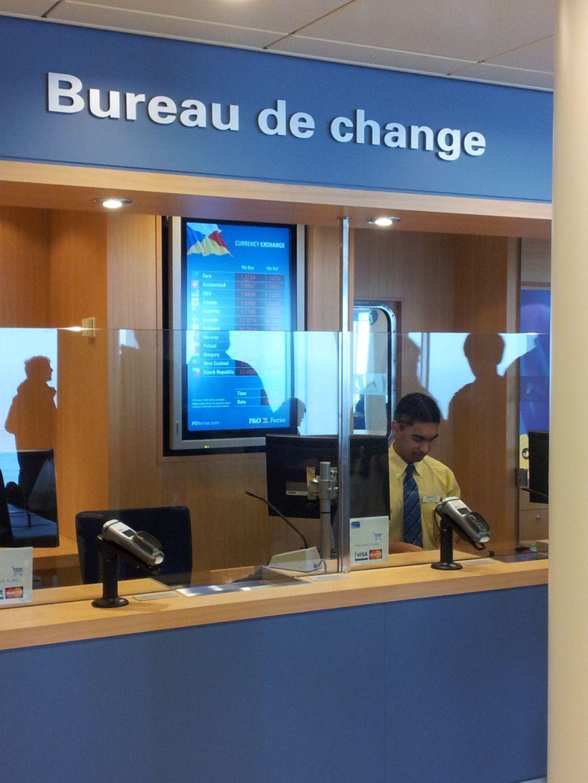 Bureau de change onboard the spirit of britain - Bureau de change a strasbourg ...