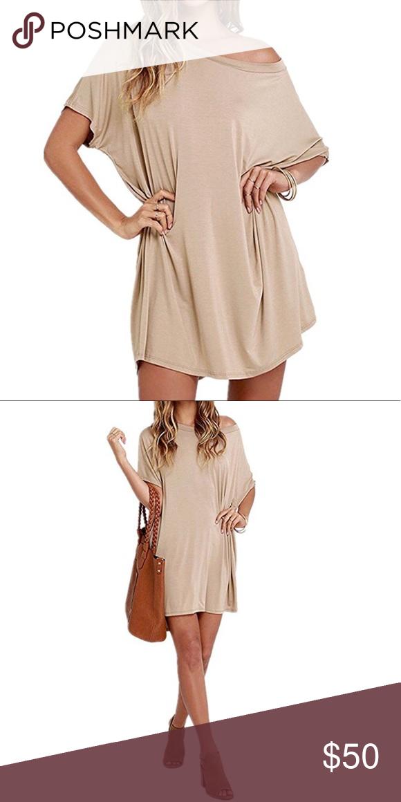 Loose T Shirt Mini Dress