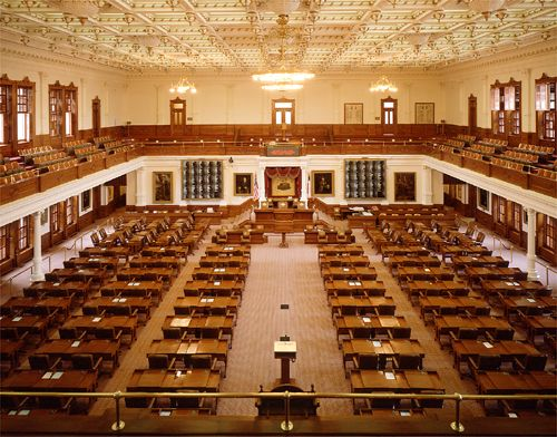 Perfect The Texas House Of Representatives. 150 Members Elected To 2 Yr Terms. (The  Desks Are Oak.)
