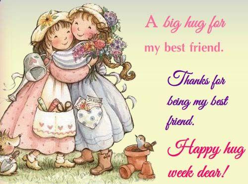 A Big #Hug For My Best #Friend.| Ecard | BestFriend | 123greetings