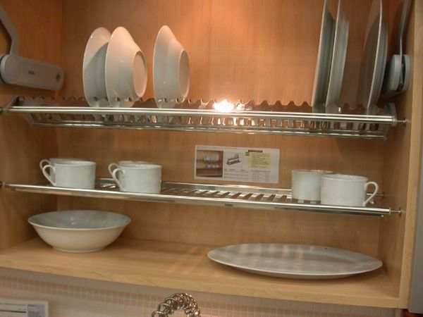 richelieu dish rack for cabinet interior lusby kitchen