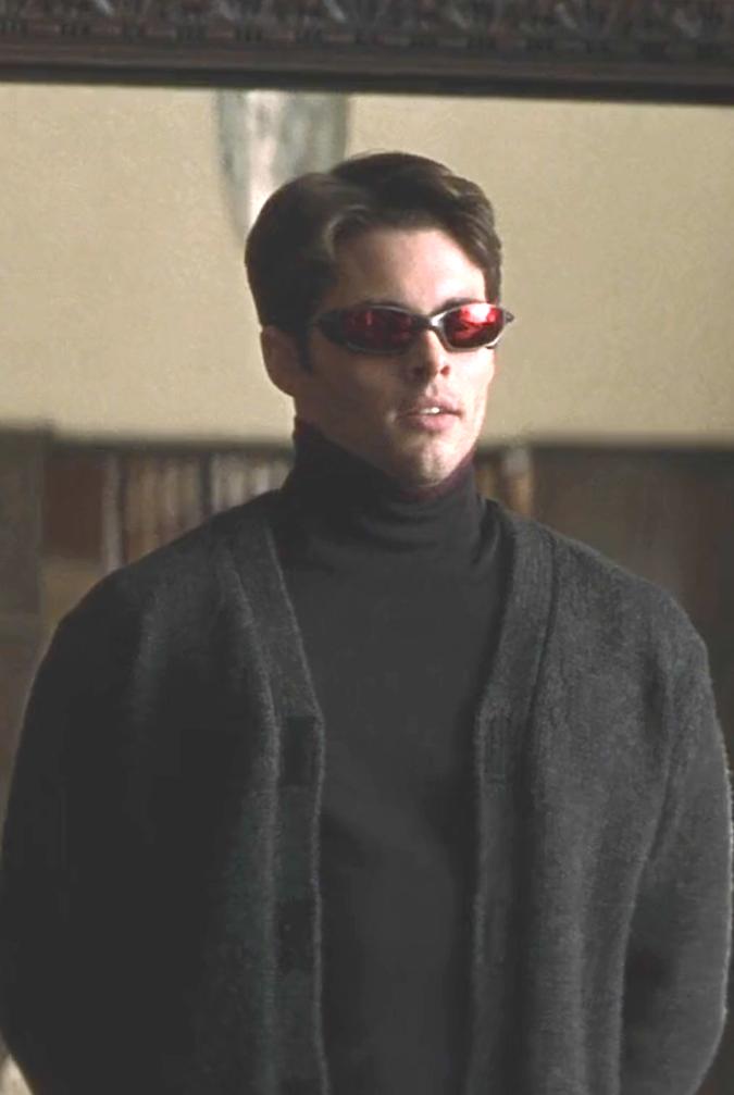 Marvel In Film N 7 2000 James Marsden As Scott Summers Cyclops X Men By Bryan Singer Hombres Hombres X Actores