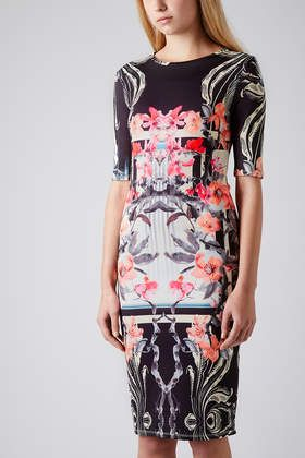 Orchid Mirror Bodycon Dress