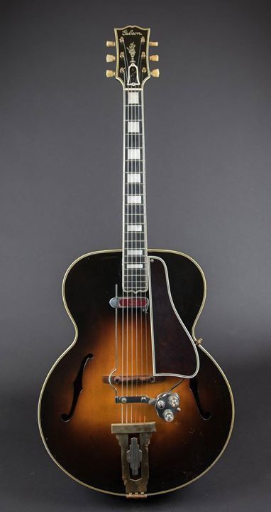 Gibson Archtop Guitar With Electric Pickup Gibson Electric Other