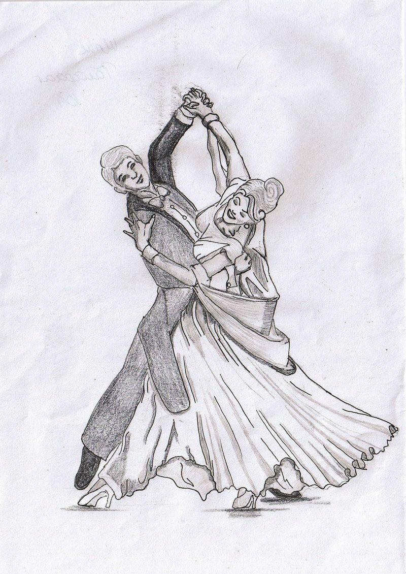 поздравить рисунок бальные танцы карандашом нашей подборке найдёте