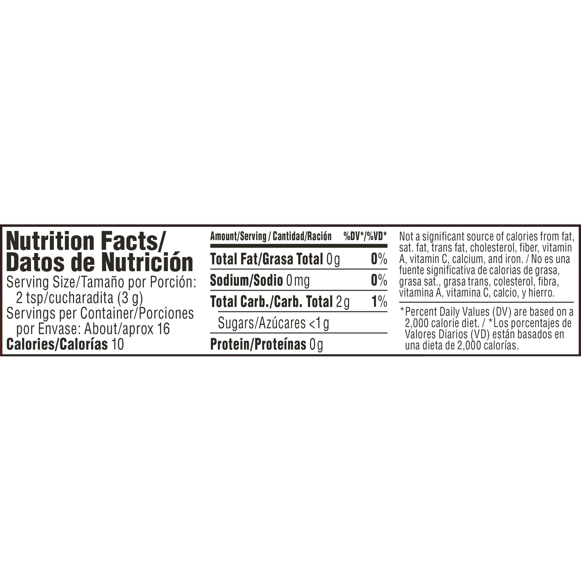 Nescafe Clasico Dark Roast Instant Coffee Nutrition Facts