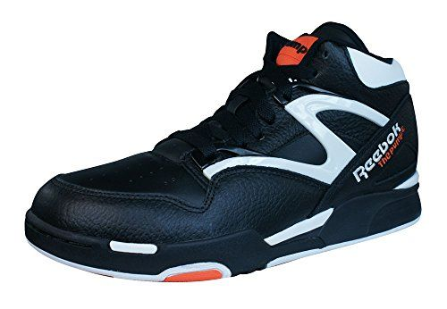 Reebok Pump Omni Lite Shoes BlackWhiteVarsity Orange