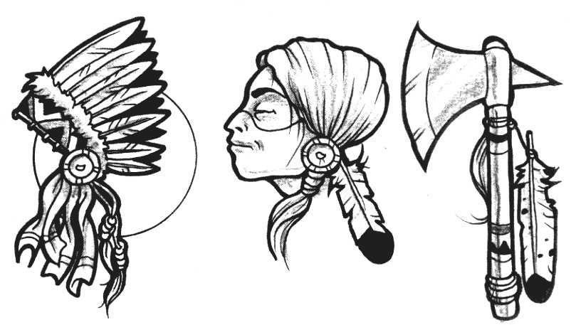 Native American Tattoo Designs Drawings American Indian 1 87 American Indian Tat Native American Tattoo Designs American Indian Tattoos Indian Tattoo Design
