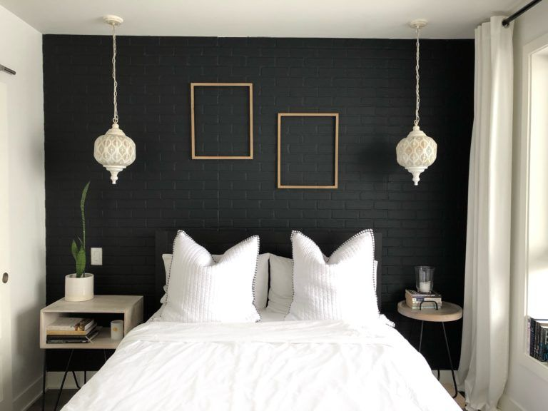 Affordable Accent Wall Ideas For Any Room Small Space Designer Black Walls Bedroom Small Bedroom Paint Colors Accent Wall Bedroom