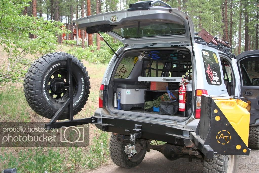 Swing Out Tire Carrier Latch And Hinge Ideas Ofn Forums Jeep