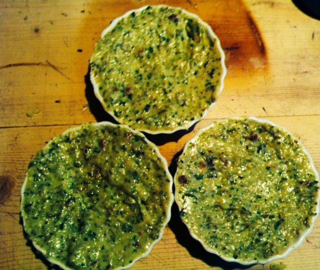 Tortino di patate fumè con speck ed erbe aromatiche