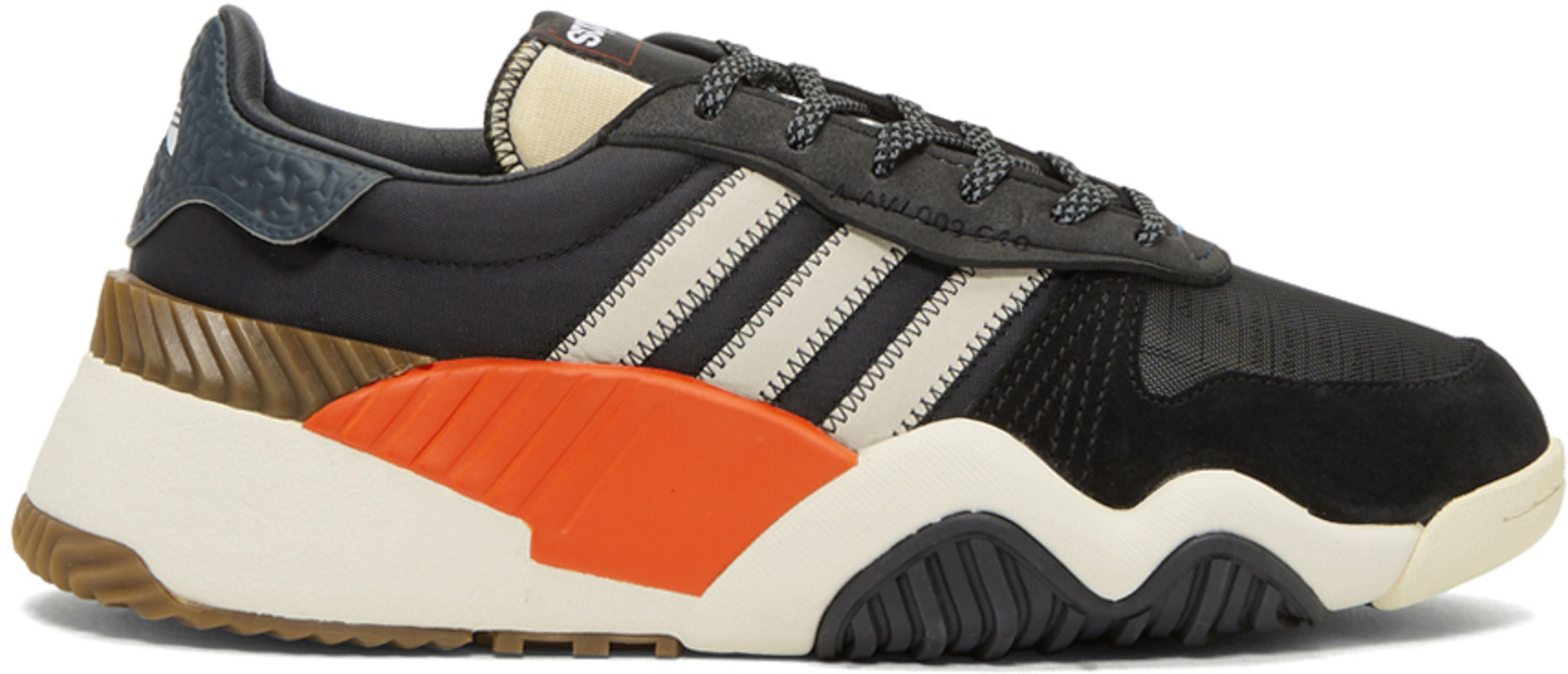 timeless design 6755b 166c3 adidas Originals by Alexander Wang - Black AW Turnout Trainer Sneakers