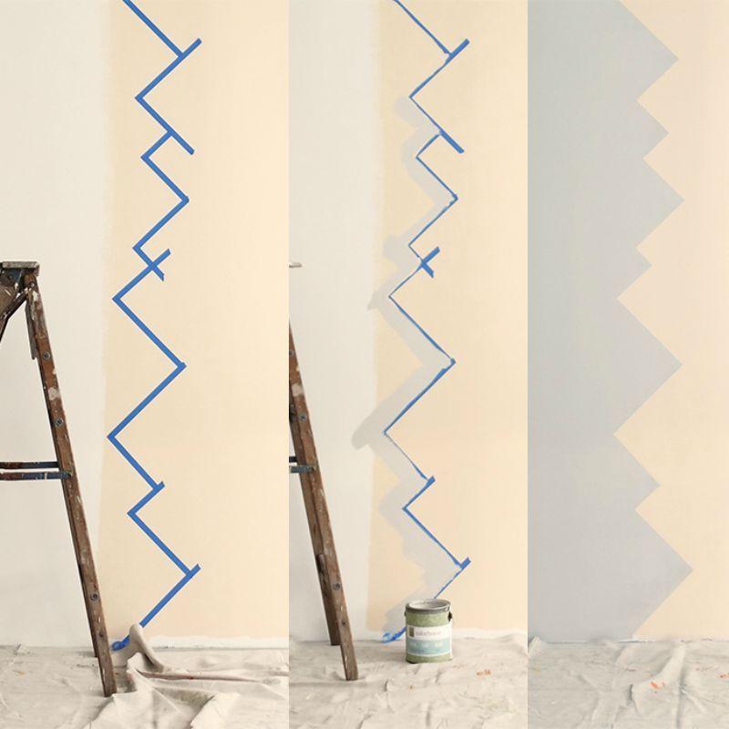 Wandgestaltung selber machen – mit Farben coole Muster ...