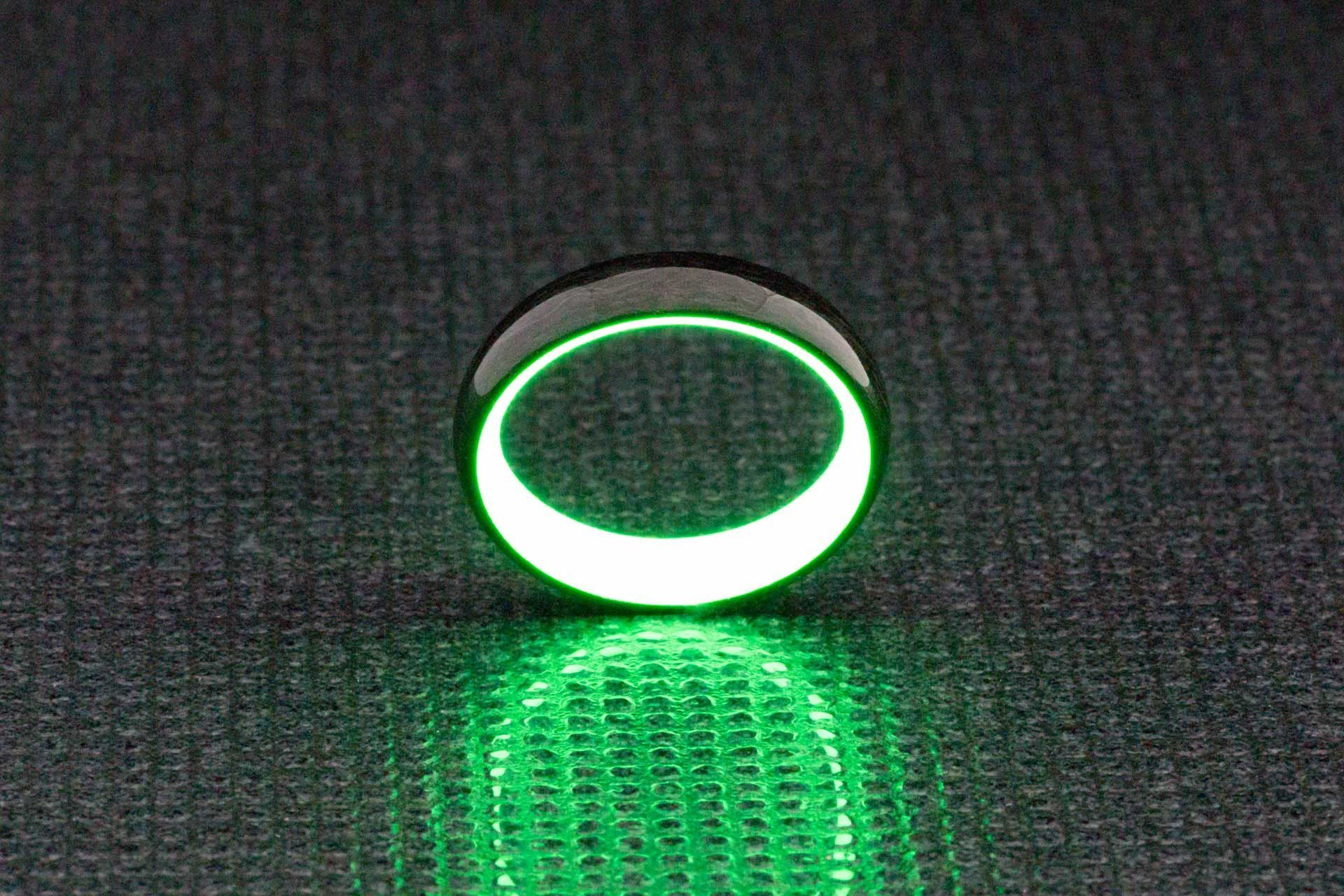 carbon glow by ring driving shot lume fiber collections rings products page the forged all