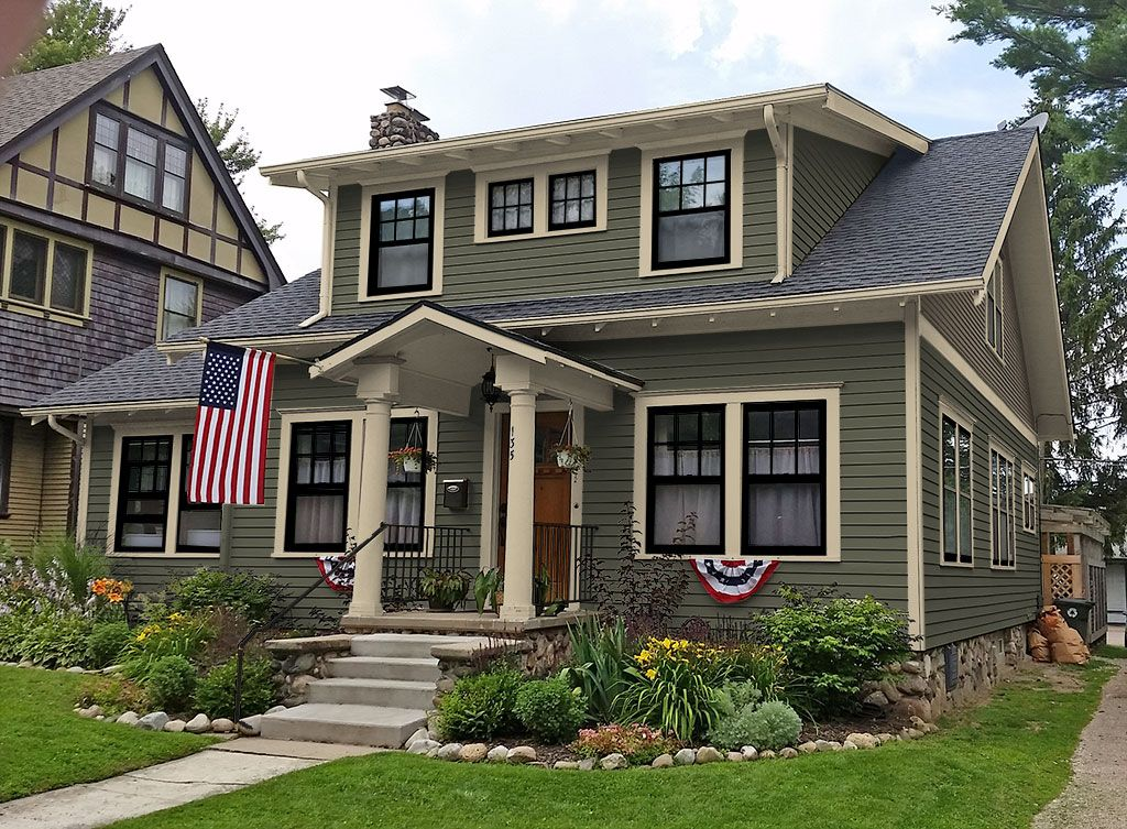 Farmhouse Exterior Colors exterior paint colors - consulting for old houses - sample colors